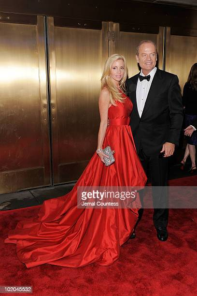 Camille Grammer and Kelsey Grammer attend the 64th Annual Tony Awards at Radio City Music Hall on June 13 2010 in New York City