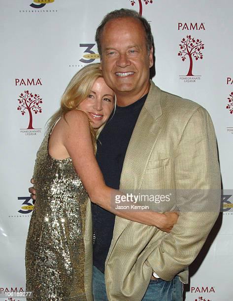 Camille Grammer and Kelsey Grammer during And 3 Arts Entertainment New York TV Upfronts AfterParty May 15 2007 at The Grand in New York City New York...