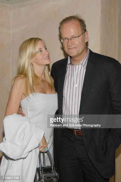 Camille Grammer and Kelsey Grammer during In Style Magazine Party at 632 Hudson in New York New York United States