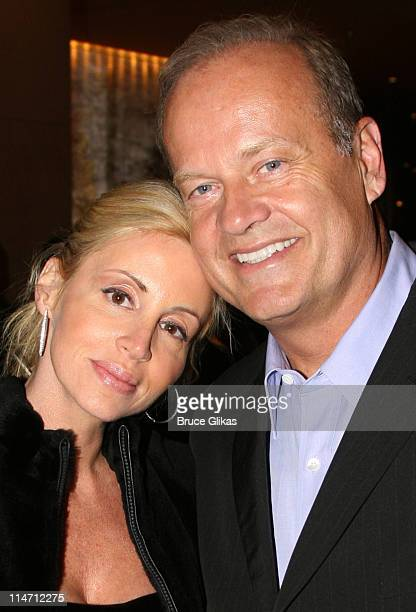 Camille Grammer and Kelsey Grammer during Paramount Pictures Hosts 2007 Golden Globe Award AfterParty at Beverly Hilton Hotel in Beverly Hills...
