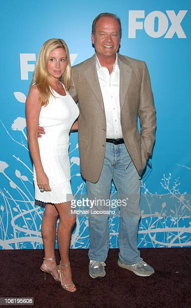Camille Grammer and Kelsey Grammer during The 2007/2008 Fox Upfronts - Arrivals at Wollman Rink - Central Park in New York City, New York, United...