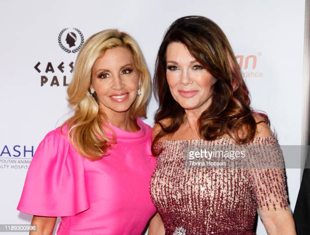 Camille Grammer and Lisa Vanderpump attend the 4th annual Vanderpump Dog Foundation Gala at Taglyan Cultural Complex on November 21 2019 in Hollywood...