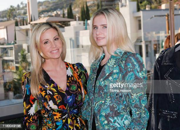 Camille Grammer and Mason Grammer attend Kobi Halperin's Pre Spring 2020 collection hosted by Mr Warburton Magazine at The Chamberlain on October 23...