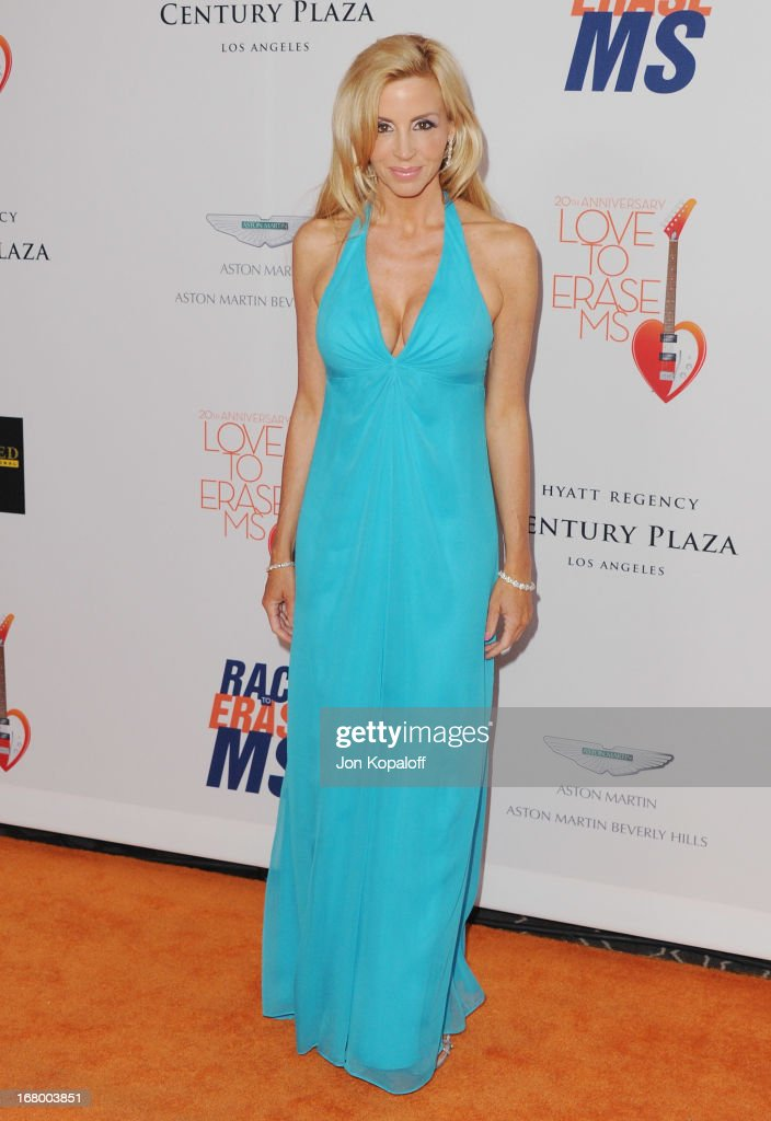 Camille Grammer arrives at the 20th Annual Race To Erase MS 'Love To Erase MS' Gala at the Hyatt Regency Century Plaza on May 3, 2013 in Century City, California.