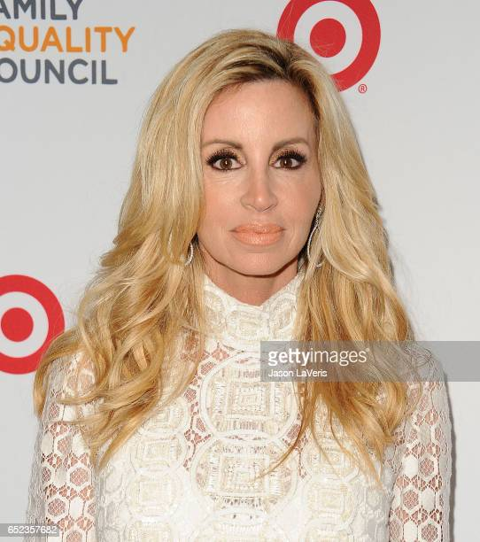 Camille Grammer attends Family Equality Council's annual Impact Awards at the Beverly Wilshire Four Seasons Hotel on March 11 2017 in Beverly Hills...