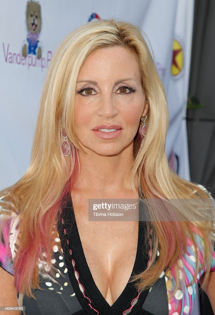 Camille Grammer attends Lisa Vanderpump's luncheon benefitting the American Humane Association and the Hero Dog Awards at Pump on August 13, 2015 in West Hollywood, California.