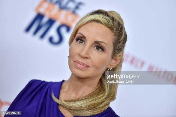 Camille Grammer attends the 26th Annual Race to Erase MS Gala at The Beverly Hilton Hotel on May 10 2019 in Beverly Hills California