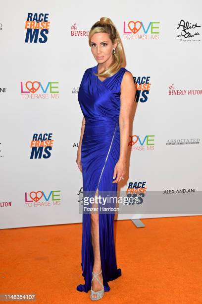 Camille Grammer attends the 26th annual Race to Erase MS on May 10 2019 in Beverly Hills California
