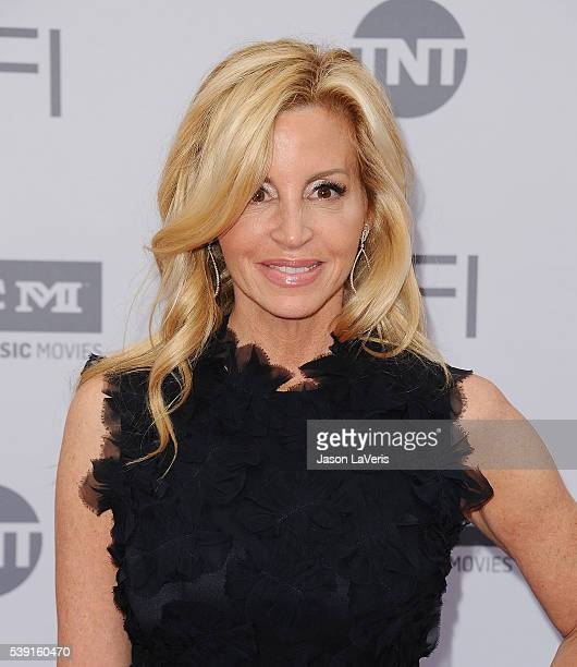Camille Grammer attends the 44th AFI Life Achievement Awards gala tribute at Dolby Theatre on June 9 2016 in Hollywood California