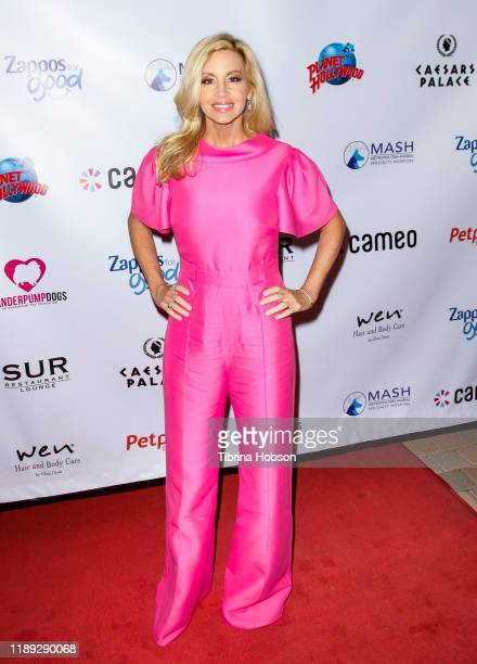 Camille Grammer attends the 4th annual Vanderpump Dog Foundation Gala at Taglyan Cultural Complex on November 21 2019 in Hollywood California