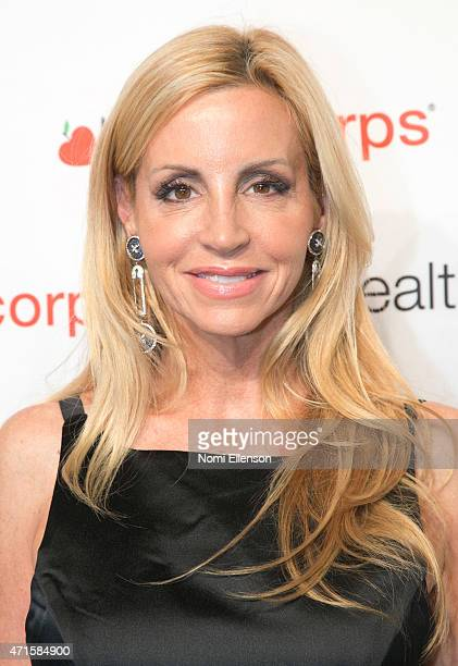 Camille Grammer attends the 9th Annual HealthCorps' Gala at Cipriani Wall Street on April 29 2015 in New York City