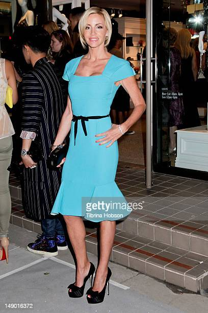 Camille Grammer attends the grand opening for Kyle Richards' new boutique 'Kyle By Alene Too' on July 21 2012 in Beverly Hills California