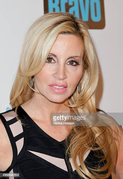 Camille Grammer attends the premiere party for Bravo's 'The Real Housewives Of Beverly Hills' season 6 at W Hollywood on December 3 2015 in Hollywood...