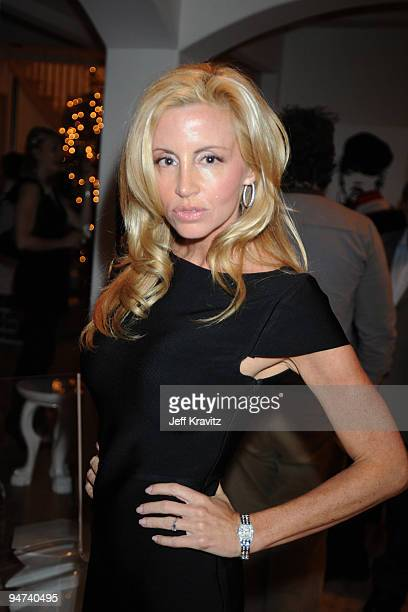 Camille Grammer attends the Wikked Entertainment holiday party on December 17 2009 in Los Angeles California