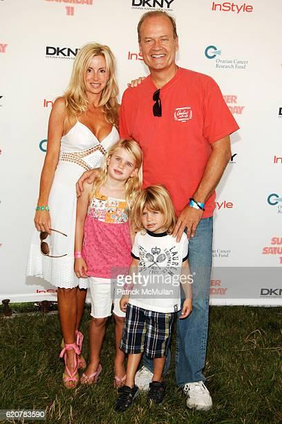 Camille Grammer, Kelsey Grammer and Children attend DONNA KARAN, InStyle Magazine & KELLY RIPA host SUPER SATURDAY 11 to Benefit Ovarian Cancer Fund...