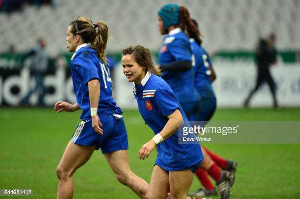Camille GRASSINEAU France / Etats Unis Rugby feminin Photo Dave Winter / Icon Sport