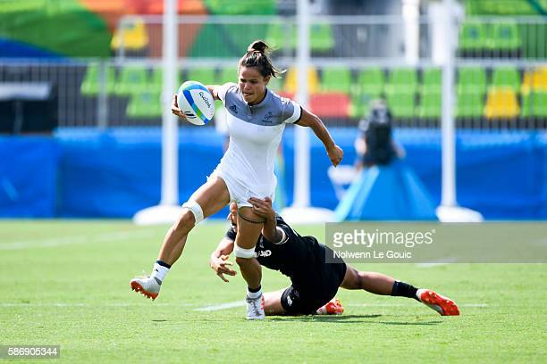 Camille Grassineau of France during Rugby Seven on Olympic Games 2016 in Rio at Deodoro Stadium on August 7 2016 in Rio de Janeiro Brazil