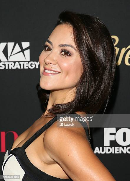 Camille Guaty attends LATINA Magazine's 'Hollywood Hot List' party at the Sunset Tower Hotel on October 2 2014 in West Hollywood California