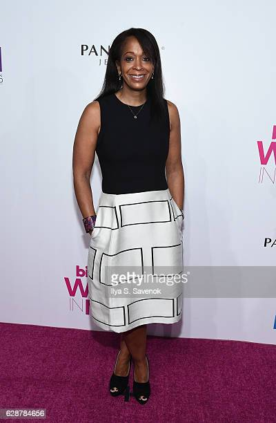 Camille Hackney attends Billboard Women In Music 2016 airing December 12th On Lifetime at Pier 36 on December 9 2016 in New York City