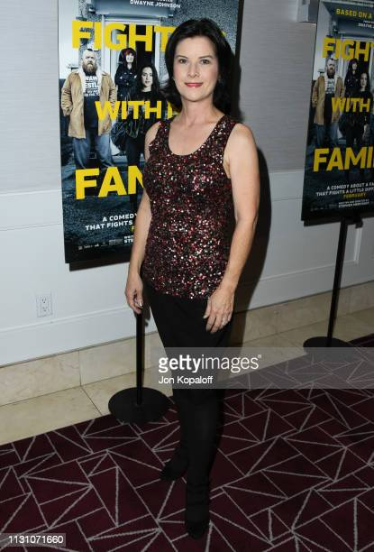 Camille James Harman attends Fighting With My Family Los Angeles Tastemaker Screening at The London Hotel on February 20 2019 in West Hollywood...