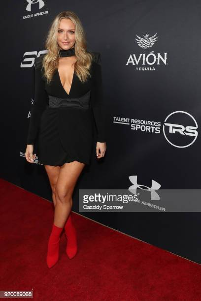 Camille Kostek Attends Tequila Avion hosts NBA AllStar After Party presented by Talent Resources on February 17 2018 in Beverly Hills California
