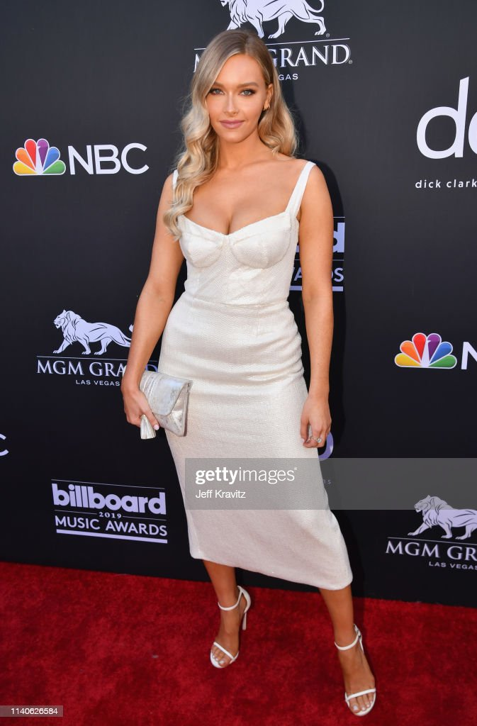 Camille Kostek attends the 2019 Billboard Music Awards at