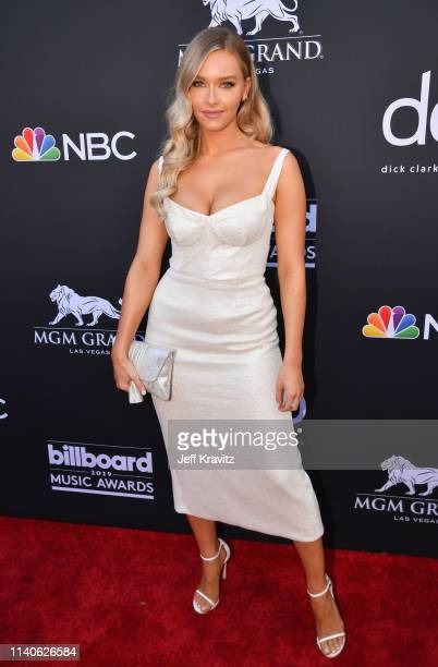 Camille Kostek attends the 2019 Billboard Music Awards at MGM Grand Garden Arena on May 1 2019 in Las Vegas Nevada