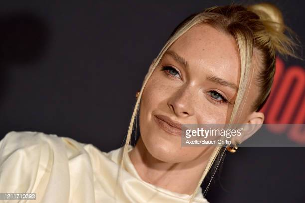 Camille Kostek attends the premiere of Sony Pictures' Bloodshot on March 10 2020 in Los Angeles California