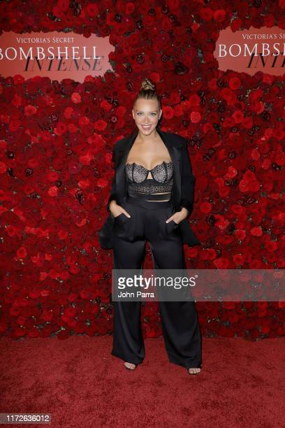 Camille Kostek attends Victoria's Secret Angel Sara Sampaio Hosts The Bombshell Intense Launch Party on September 05 2019 in New York City