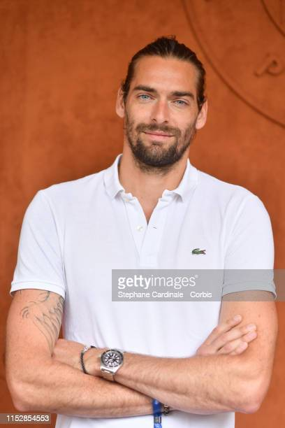 Camille Lacourt attends the 2019 French Tennis Open Day Six at Roland Garros on May 31 2019 in Paris France