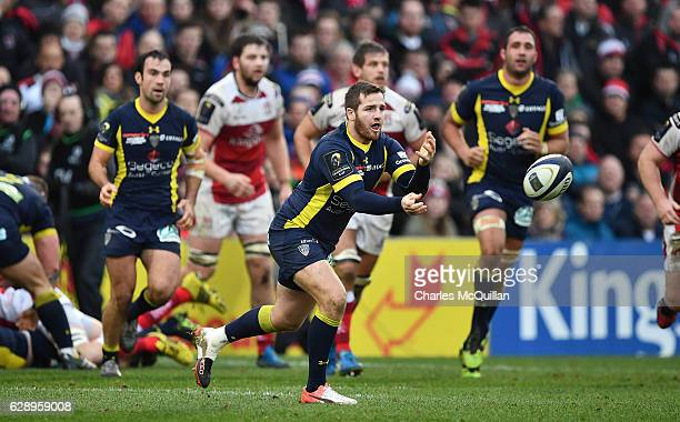 Camille Lopez of Clermont during the European Champions Cup game between Ulster and ASM Clermont Auvergne on December 10 2016 in Belfast United...