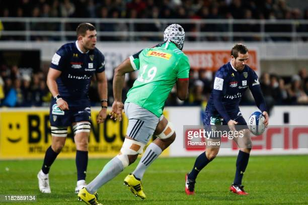 Camille LOPEZ of Clermont during the European Rugby Champions Cup Pool 3 match between ASM Clermont Auvergne and Harlequin FC on November 16 2019 in...