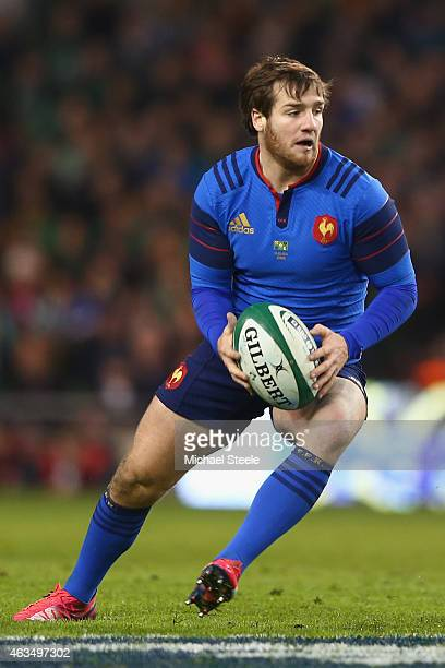 Camille Lopez of France during the RBS Six Nations match between Ireland and France at the Aviva Stadium on February 14 2015 in Dublin Ireland