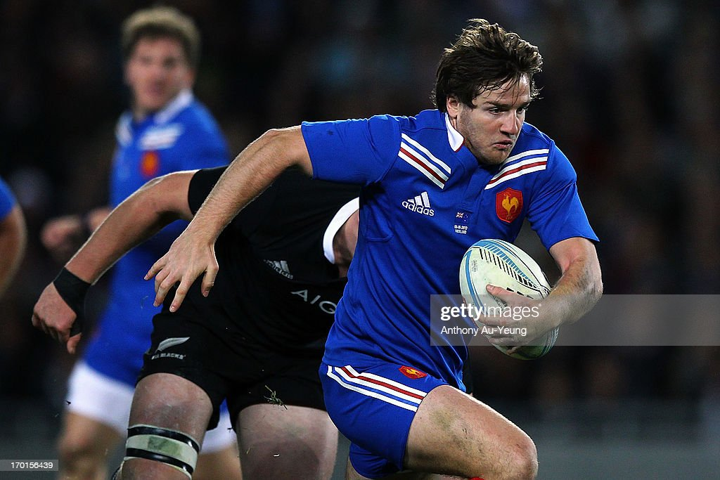 New Zealand v France - Game 1 : News Photo