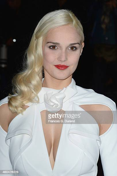 Camille Lou arrives at the 16th NRJ Music Awards at Palais des Festivals on December 13 2014 in Cannes France
