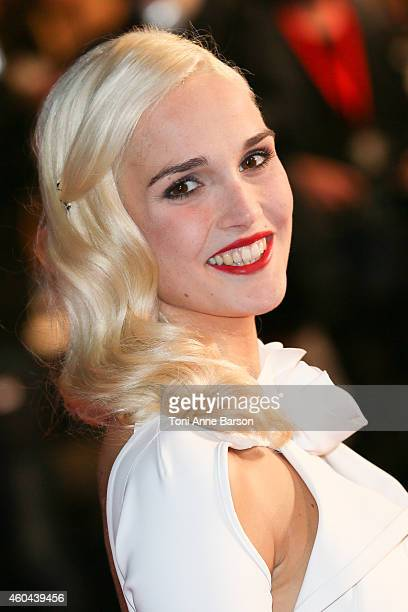 Camille Lou arrives at the 16th NRJ Music Awards at the Palais des Festivals on December 13 2014 in Cannes France