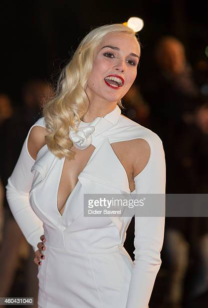 Camille Lou attends the 16th NRJ Music Awards at Palais des Festivals on December 13 2014 in Cannes France