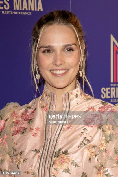 Camille Lou attends the 2nd Series Mania Festival opening ceremony on March 22 2019 in Lille France