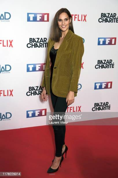 Camille Lou attends the Le Bazar De La Charite Photocall At Le Grand Rex on September 30 2019 in Paris France
