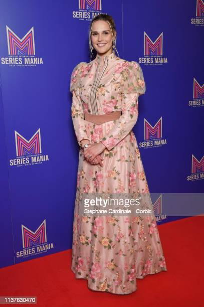 Camille Lou attends the Opening Ceremony of the 2nd Series Mania Festival In Lille on March 22 2019 in Lille France