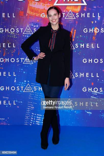Camille Lou attends the Paris Premiere of the Paramount Pictures release Ghost in the Shell Held at Le Grand Rex on March 21 2017 in Paris France