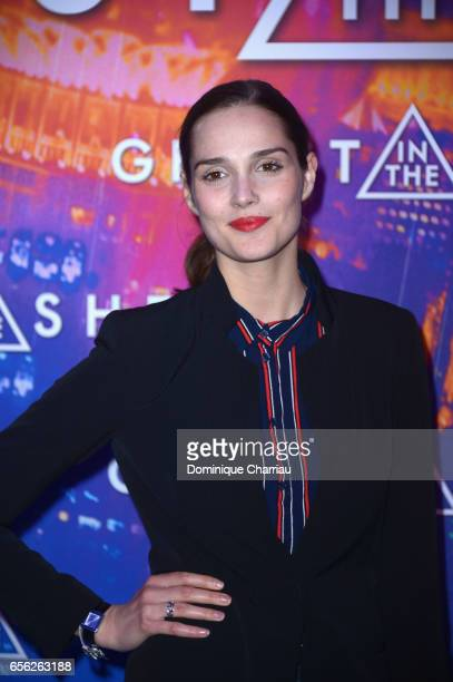 Camille Lou attends the Paris Premiere of the Paramount Pictures release Ghost In The Shell at Le Grand Rex on March 21 2017 in Paris France