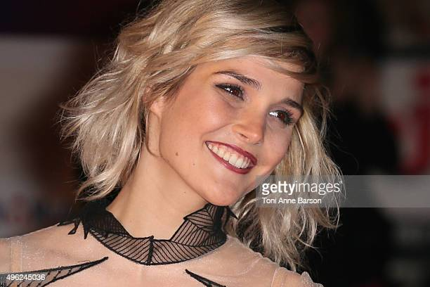Camille Lou attends the17th NRJ Music Awards at Palais des Festivals on November 7 2015 in Cannes France