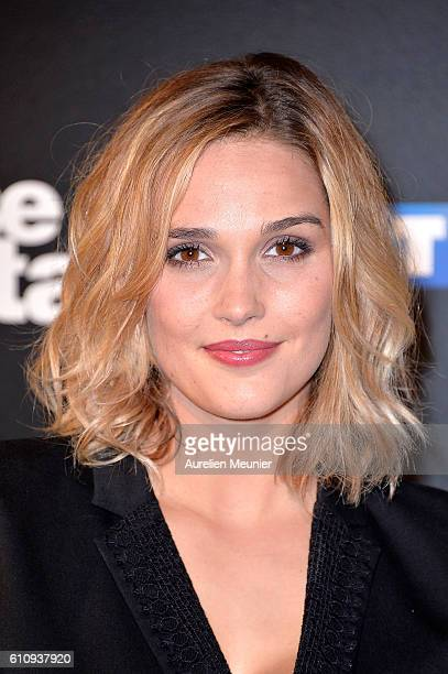 Camille Lou poses during the 'Danses With The Stars' photocall on September 28 2016 in Paris France