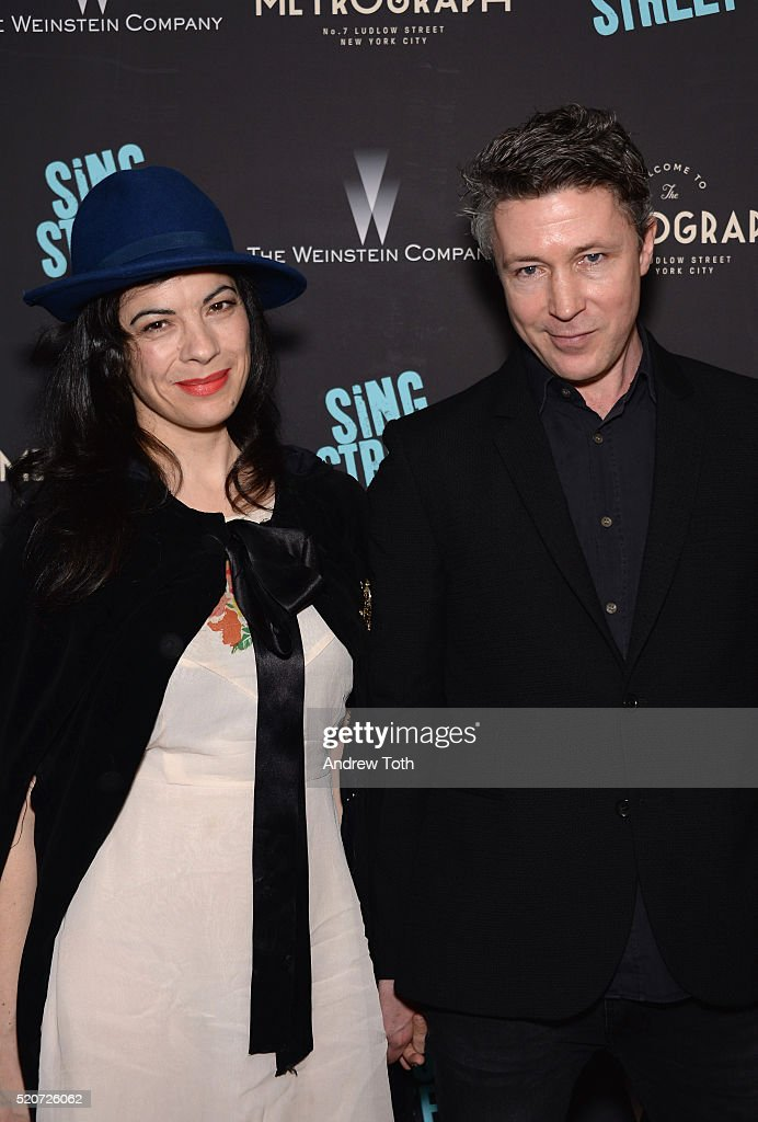 The Weinstein Company Hosts The Premiere Of 'Sing Street' - Arrivals : News Photo