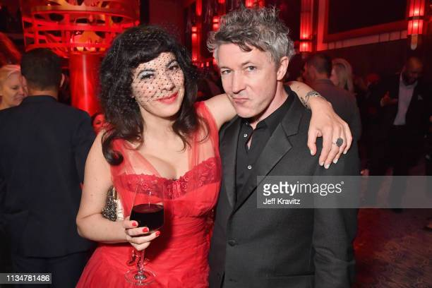 Camille O'Sullivan and Aidan Gillen attend the Game Of Thrones Season 8 NY Premiere After Party on April 3 2019 in New York City