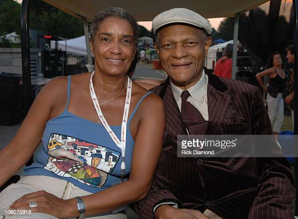 Camille Russell Love Director Office of Cultural Affairs and McCoy Tyner