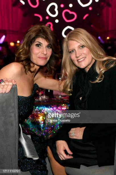 Camille Ruvo and Katie McNeil attend the 24th annual Keep Memory Alive 'Power of Love Gala' benefit for the Cleveland Clinic Lou Ruvo Center for...