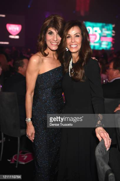Camille Ruvo and Sheryl Goldstein attend the 24th annual Keep Memory Alive 'Power of Love Gala' benefit for the Cleveland Clinic Lou Ruvo Center for...