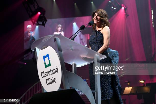 Camille Ruvo attends the 24th annual Keep Memory Alive 'Power of Love Gala' benefit for the Cleveland Clinic Lou Ruvo Center for Brain Health at MGM...
